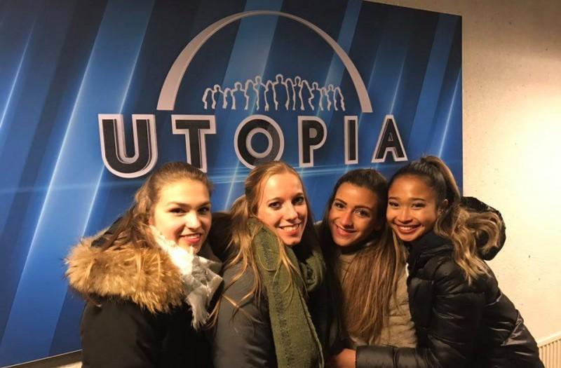 United Cheers te gast bij Utopia