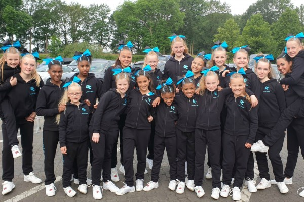 Elite Cheerleading Championships in Moviepark - juni 2019